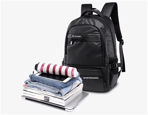 Tas Ransel Laptop Keren Black tas ransel laptop back to school bag black