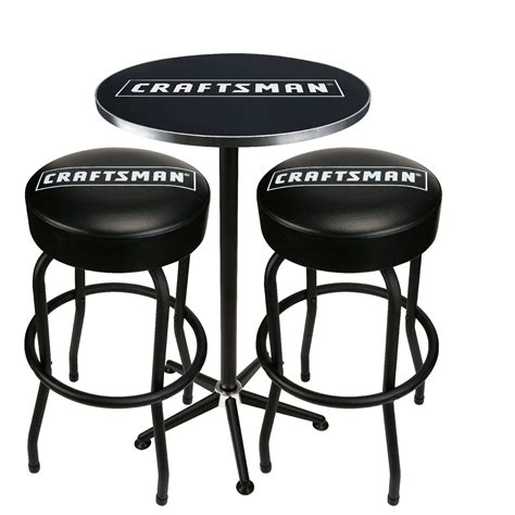 craftsman bar stools and table craftsman pub table and stools the best looking seats
