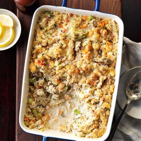 seafood casserole recipe taste of home