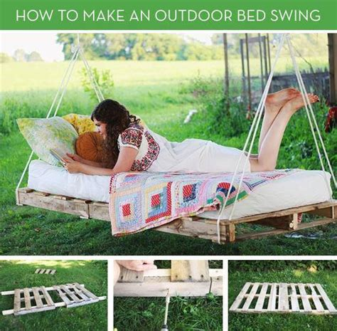 how to make a backyard swing 50 wonderful pallet furniture ideas and tutorials
