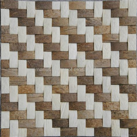Diy Bathroom Designs Weave Design Coconut Wall Panels Mosaic Jh K12 Gimare