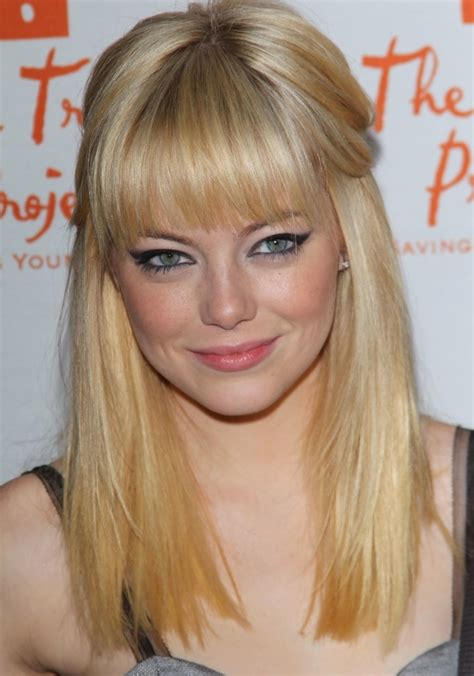 hairstyles with bangs blonde top 11 lovely and simple hairstyles with bangs for long