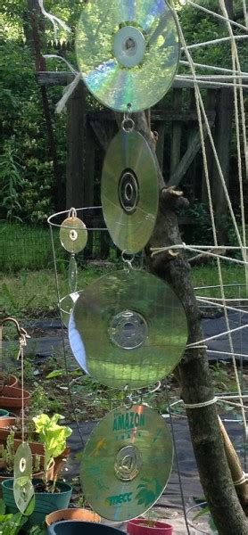 Keeping Birds Out Of Garden by Reusing Cd S How To Keep Birds Out Of The Garden 1