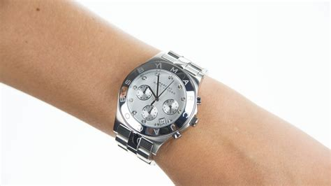 Marc by Marc Jacobs Ladies Blade Stainless Steel Bracelet Watch MBM3100   YouTube