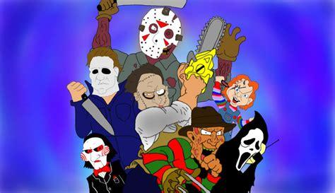 film cartoon horror cartoon horror movies horror movie killers by