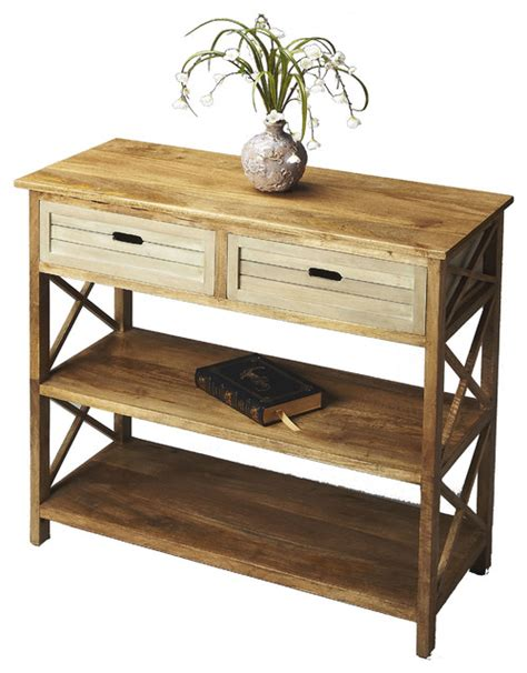 Mango Wood Entry Table Style Console Tables By
