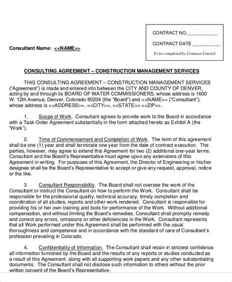 sle consulting agreement template 40 consulting agreement sle 28 images sle consultant