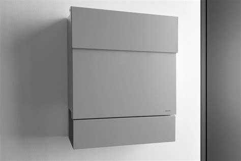 moderne briefkästen briefkasten letterman 5 silber radius design
