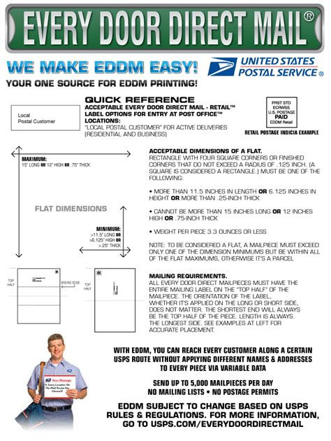 eddm direct mail printing   business  ezcustomsign
