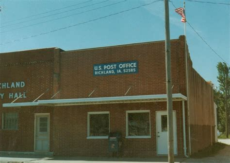 Richland Post Office by Richland Ia Post Office Photo Picture Image Iowa At