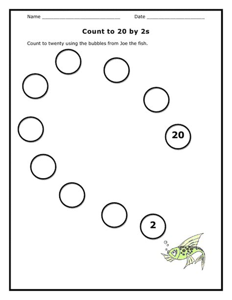 Counting By 2 S Worksheet by Free Worksheets 187 Skip Counting By 2s Free Math