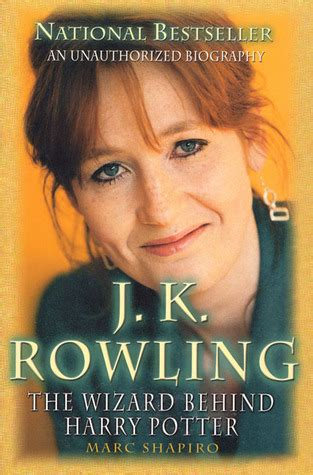biography books about jk rowling j k rowling the wizard behind harry potter by marc