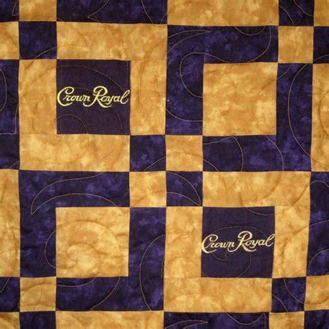 quilt pattern using crown royal bags royal crown quilts designs crown royal bag quilt