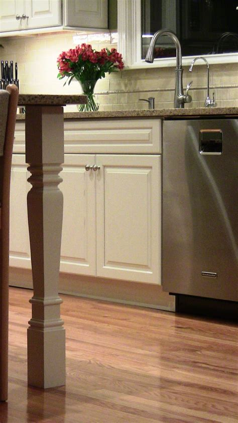 kitchen islands with legs kitchen island legs home