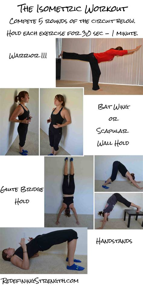Isometric Desk Exercises by 20 Minute Isometric Workout Redefining Strength