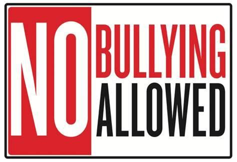 Wall Murals Decals no bullying allowed classroom poster posters at
