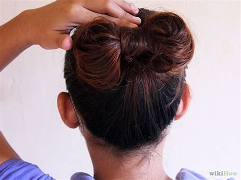 Hairstyles Accessories Bun Recipe by Wonderful Easy Bow Bun For Hair Style