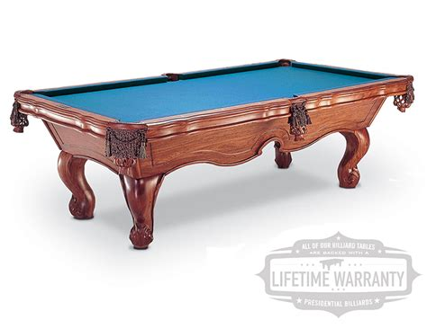 presidential billiards products