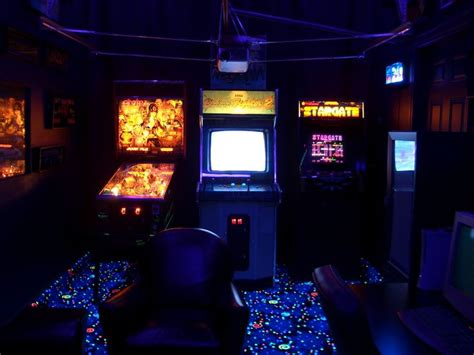 arcade room arcade room room