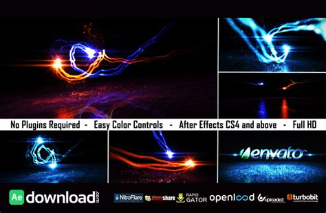 after effect template project logo light reveal 2 free after effects project