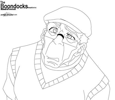 Sketch From The Boondocks Riley Coloring Pages Boondocks Coloring Pages