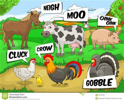 imagenes de animales y sonidos ejemplo de la historieta de los sonidos de negociaciones