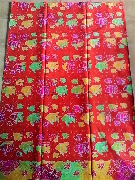 Batik Tulis Bunga Ikan B02 by Batik Tulis Madura Motif Ikan Murah Bbm 799eb4a4 Wa