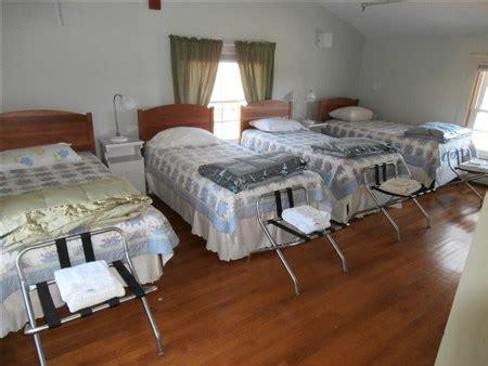 three beds in one bedrooms second floor