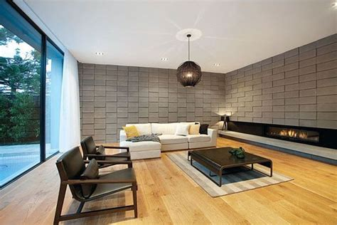 concrete block building interior design ideas perfect living room interior in modern decoration with