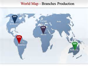 world map continents ppt map world continents