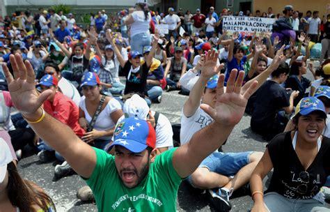 imagenes nicky romero venezuela varios heridos de bala tras movilizaciones en venezuela