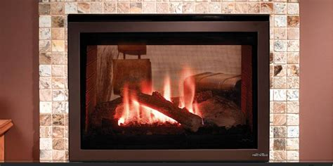 heat glo st 550t see through gas fireplace energy