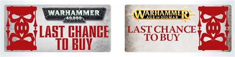 Last Chance To See The Golden Age Of Couture by Last Chance 40k Forge World Items Selling Out Spikey Bits