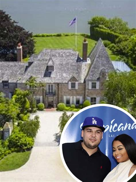 blac chyna house wow pics rob kardashian and blac chyna s new 163 36million home