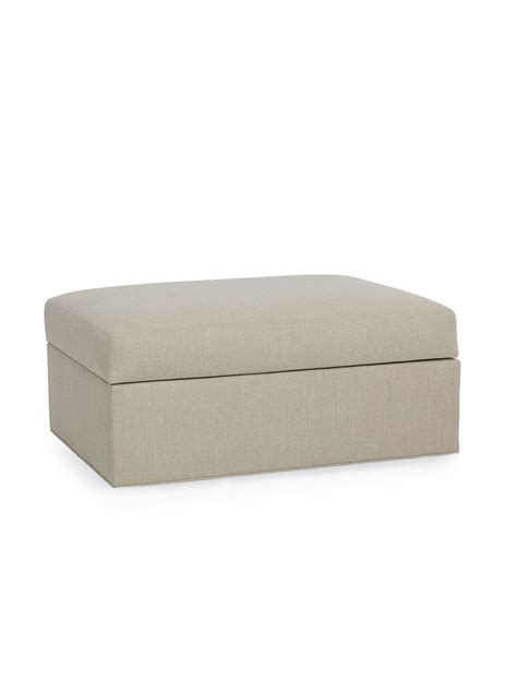 cottage style chairs and ottomans hawk island upholstered ottoman cottage home 174