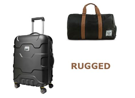 rugged carry on luggage presents for the rugged sporty and fashionable travellers