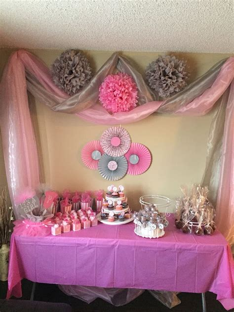 Gray And Pink Baby Shower by Best 25 Gray Baby Showers Ideas On Pink Baby