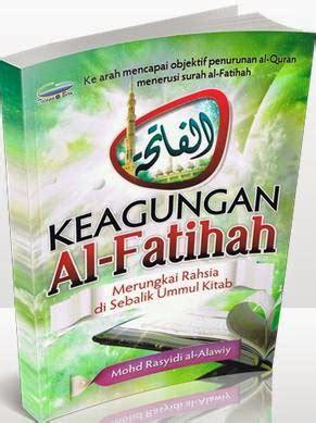 Mutiara Di Samudra Al Fatihah buku islamik diskaun keagungan al fatihah mohd rasyidi al alawiy