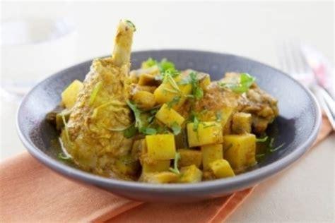 recette de colombo de poulet facile  rapide