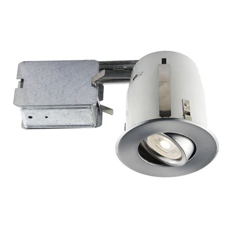bazz led under lighting bazz led recessed 4 in brushed chrome recessed led