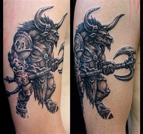 minotaur tattoo designs minotaur inner vision