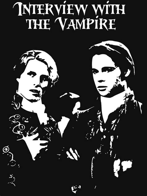 """Interview with the Vampire - Anne Rice"" T-shirt by"