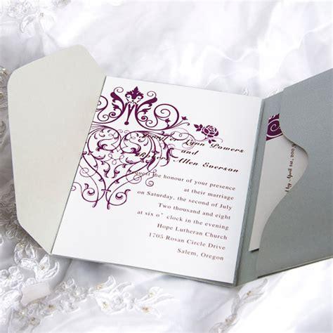 blank printable wedding invitation kits blank wedding invitations kits