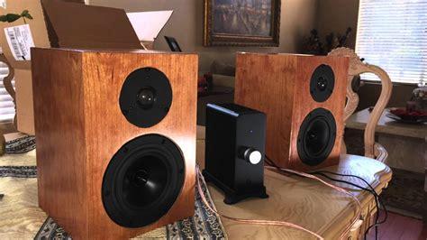 diy audiophile speaker kits plans speakers bookshelf