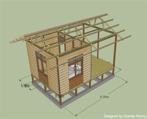 Two Floors House Plans raja ampat reef simple wooden house for ecotourism
