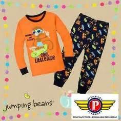 Piyama Baju Tidur Anak Jumping Bean Jbs1 A t050305 baju piama bebe pomme motif dino bahan halus dan