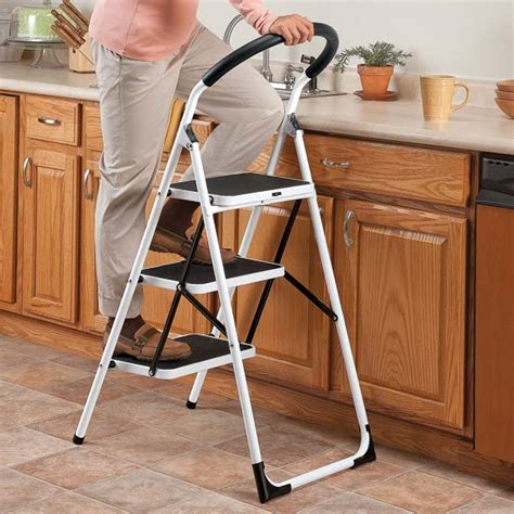 Senior Step Stool by Safety Step Ladders For Seniors Myideasbedroom