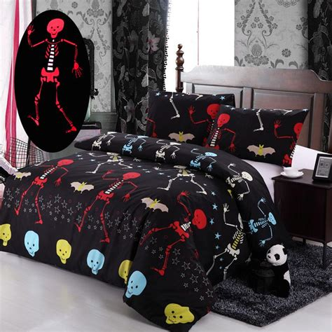 nightmare before christmas bedroom set 2016 nightmare before christmas bedding set red ghost bat