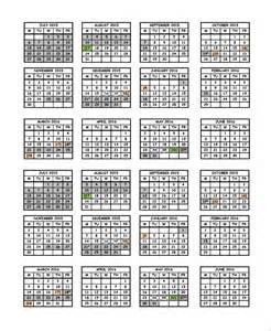 Attendance Calendar Template by Sle Attendance Calendar Template 9 Free Documents