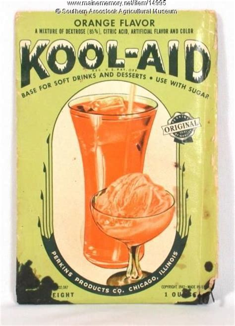 Kool Aid was invented by Edwin Perkins in Hastings